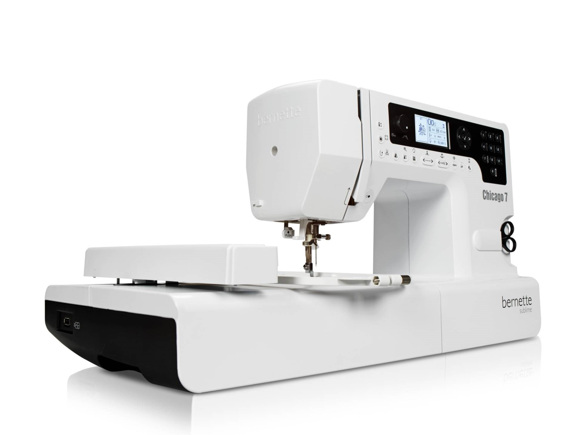 Embroidery Machine Beautiful Bernina Bernette Chicago 7 Sewing and Embroidery Machine Of Innovative 43 Pictures Embroidery Machine