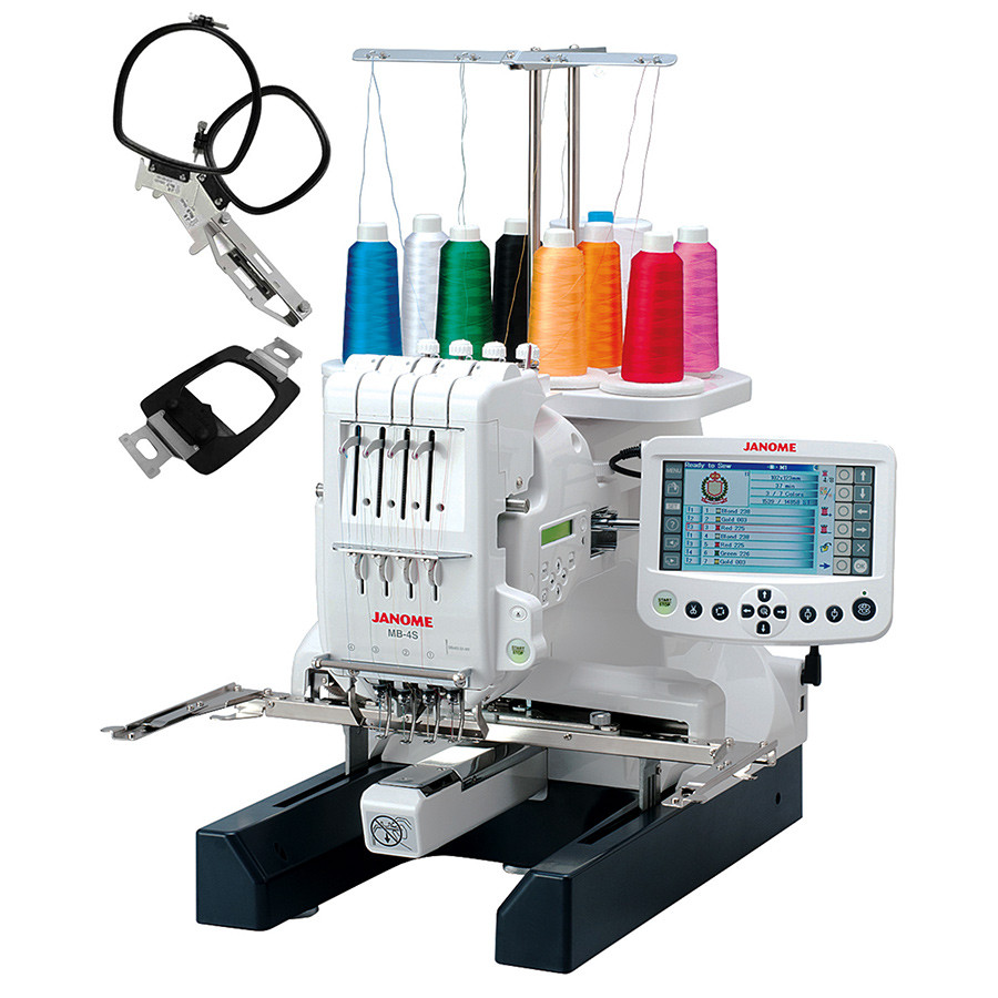 Embroidery Machine Best Of Janome Mb 4s Four Needle Embroidery Machine Of Innovative 43 Pictures Embroidery Machine