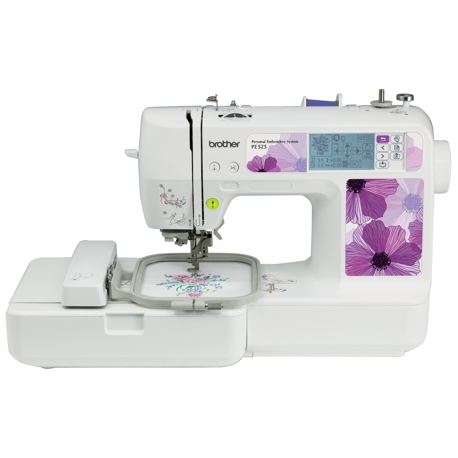 Review of Brother PE525 Embroidery sewing Machine
