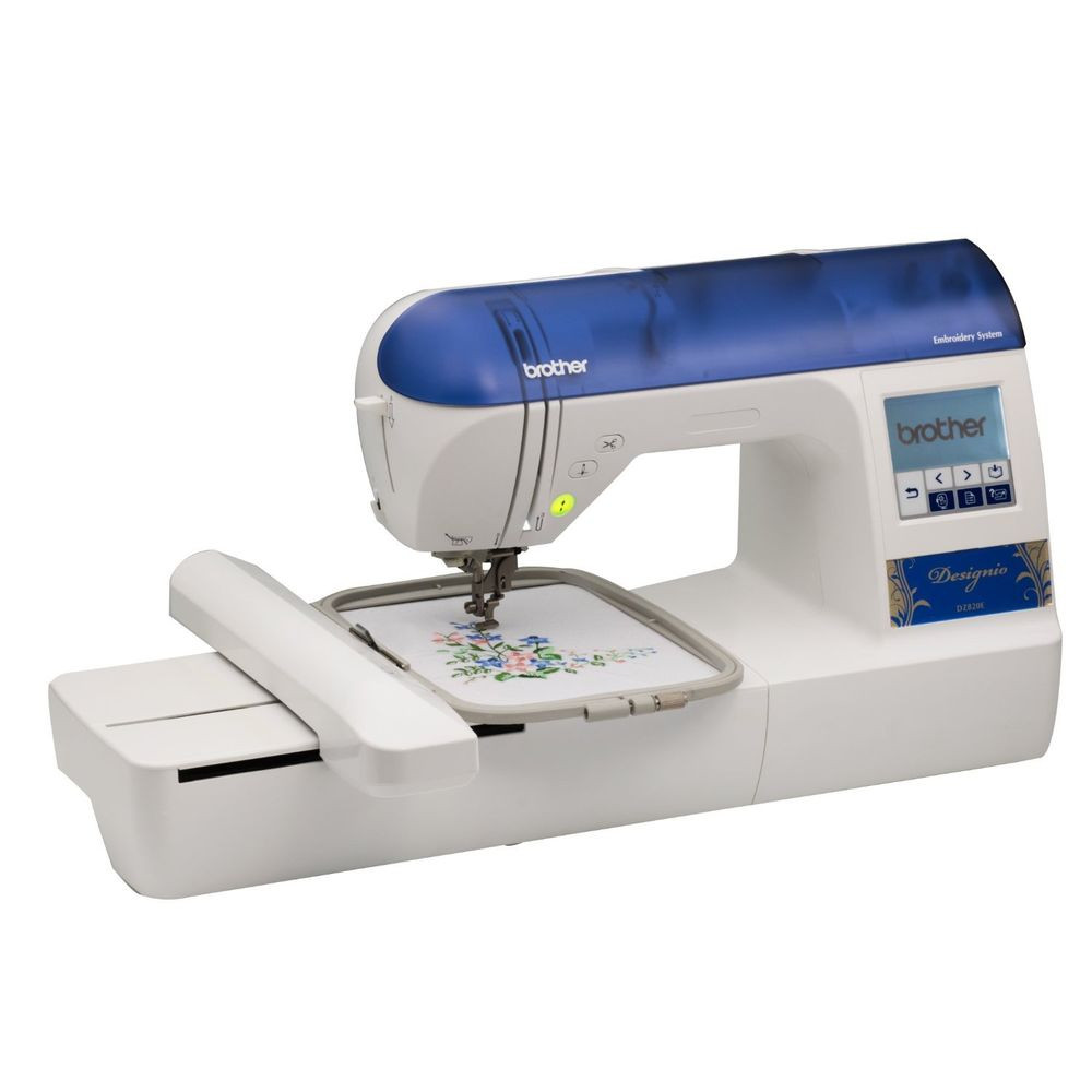 "Embroidery Machine New Brother Designio Dz820e 5×7"" Embroidery Machine 2 Extra Of Innovative 43 Pictures Embroidery Machine"