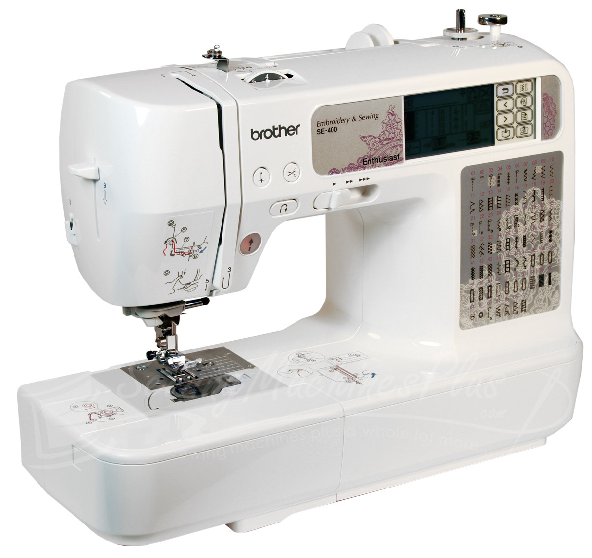 Embroidery Sewing Machine Best Of Brother Se 400 Sewing & Embroidery Machine with Puter Of Wonderful 40 Images Embroidery Sewing Machine