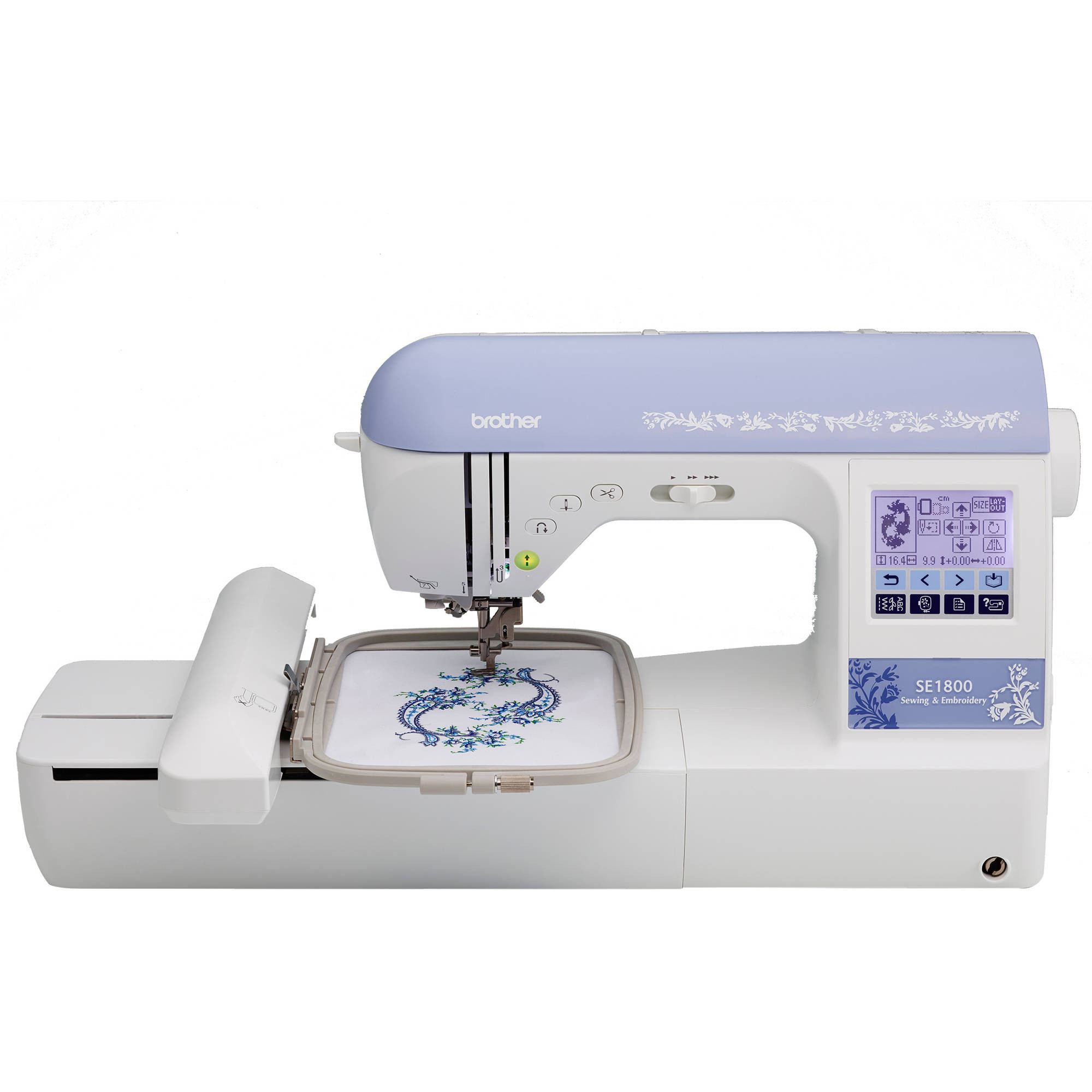 Embroidery Sewing Machine Inspirational Brother Se400 Bination Puterized Sewing and 4×4 Of Wonderful 40 Images Embroidery Sewing Machine