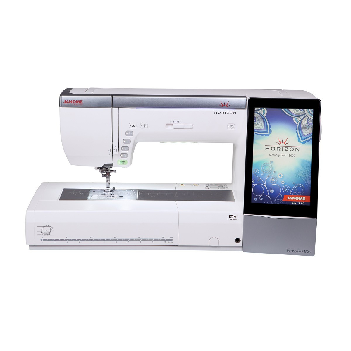 Janome Memory Craft Horizon Sewing Embroidery