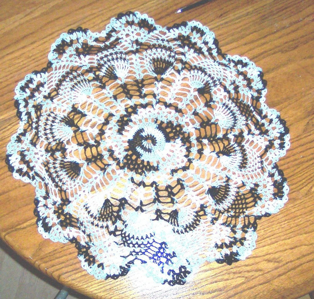 End Table Doilies Awesome Beautiful Zebra Color Coffee Table Doily Pineapple Design Of Great 42 Images End Table Doilies