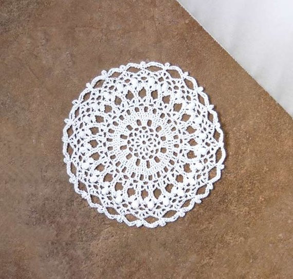 End Table Doilies Beautiful White Lace Crochet Doily Round Table Accessory by Of Great 42 Images End Table Doilies