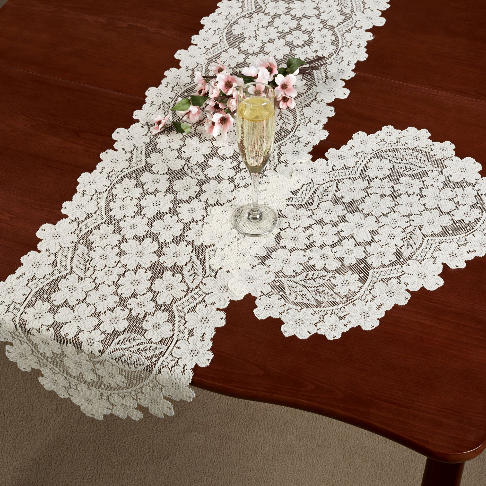 End Table Doilies Best Of Dogwood Lace Table Runners Of Great 42 Images End Table Doilies
