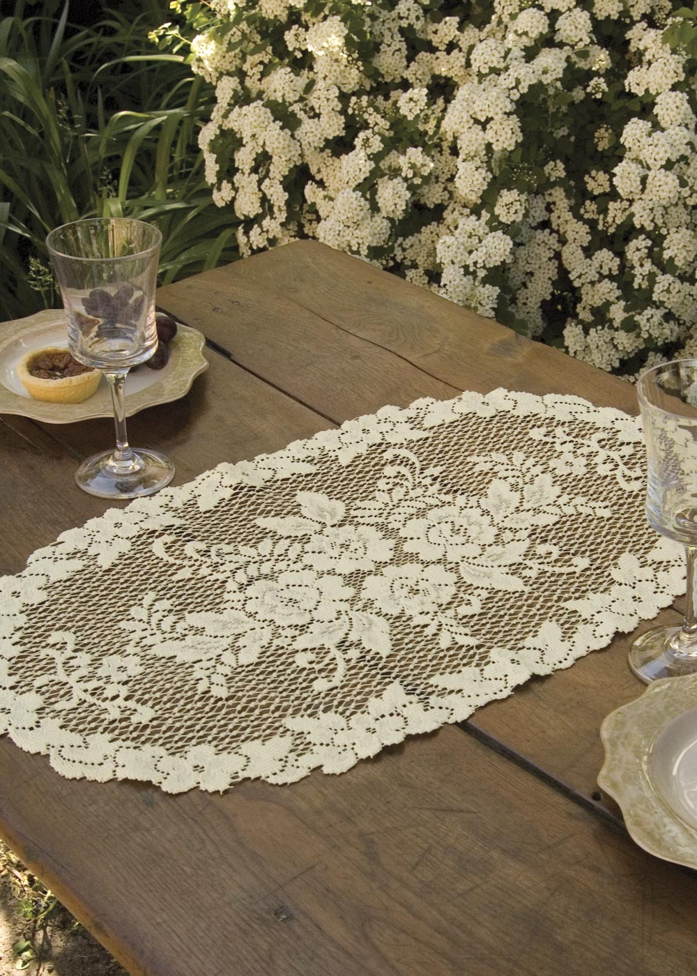 Heritage Lace Victorian Rose Doiles and Scarves