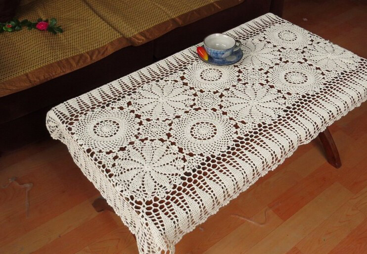 End Table Doilies Lovely Handmade Crochet Flowers sofa towel Tablecloth Table Of Great 42 Images End Table Doilies