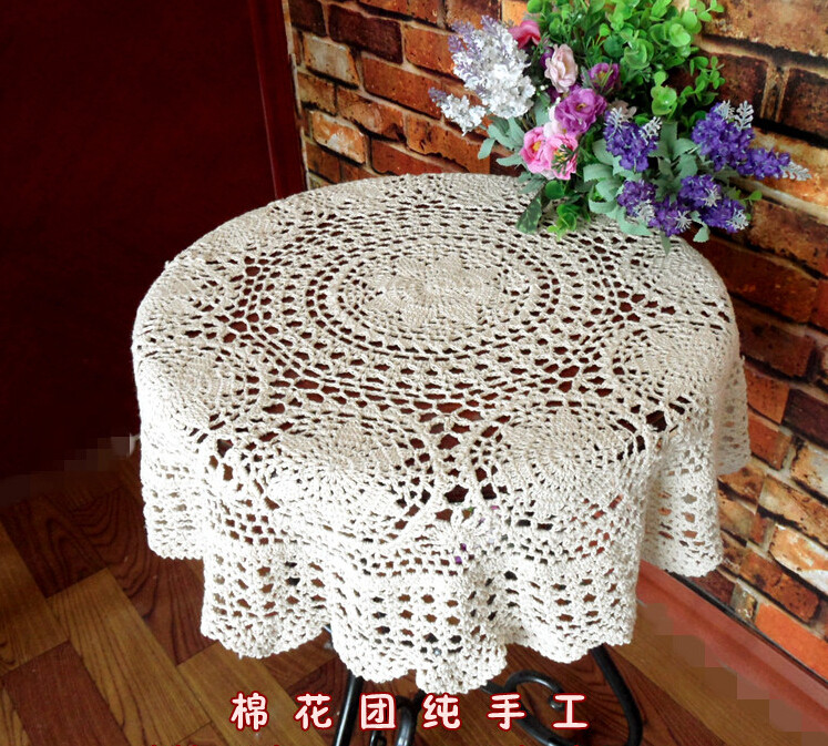 End Table Doilies Lovely Popular Round Lace Tablecloths Buy Cheap Round Lace Of Great 42 Images End Table Doilies