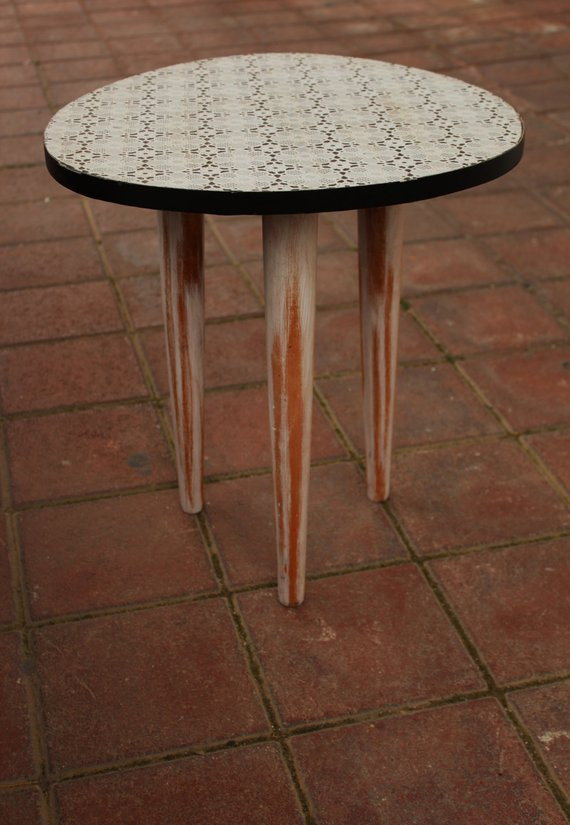 End Table Doilies Luxury Dolly Tabletro Doily Side by Craftworksfurniture On Etsy Of Great 42 Images End Table Doilies