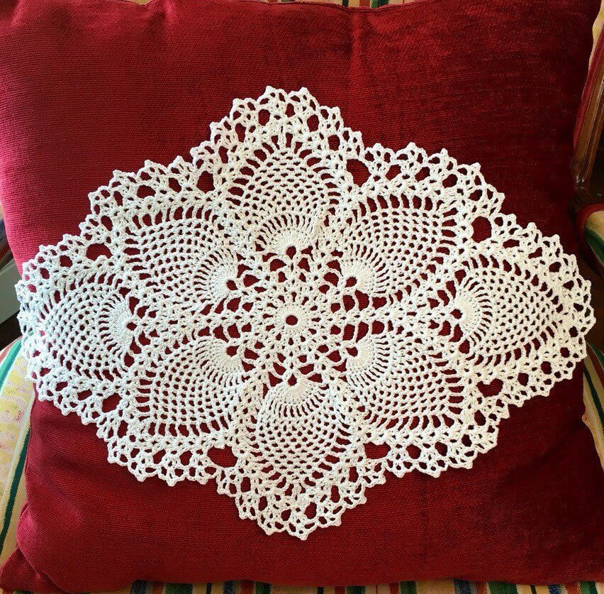 End Table Doilies New Rustic Coffee Table Doily Pineapple Crochet Doily Handmade Of Great 42 Images End Table Doilies