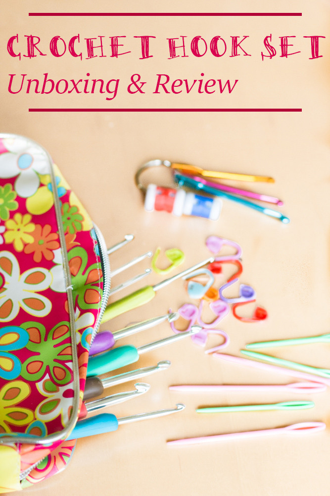 Ergonomic Crochet Hook Set Unboxing and Review Crafty