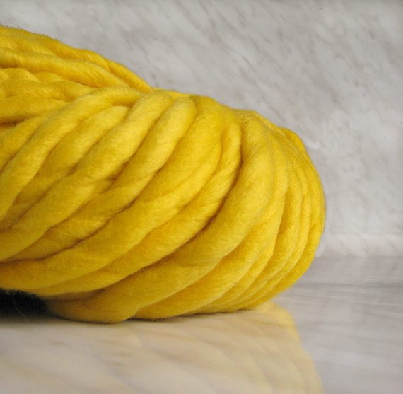 Extra Chunky Yarn Awesome Super Bulky Yarn Extra Chunky Yarn atlas Yellow 7 Oz Of New 40 Pictures Extra Chunky Yarn