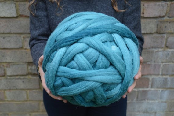 Extra Chunky Yarn Lovely Chunky Yarn Dyed Merino Wool Roving Superfine 16 Micron Of New 40 Pictures Extra Chunky Yarn
