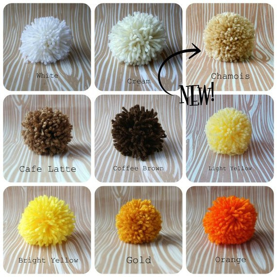 Extra Large Yarn Lovely Set Of 6 Yarn Pom Poms Extra 4 5 Inch by thetinygarden Of Delightful 44 Pictures Extra Large Yarn
