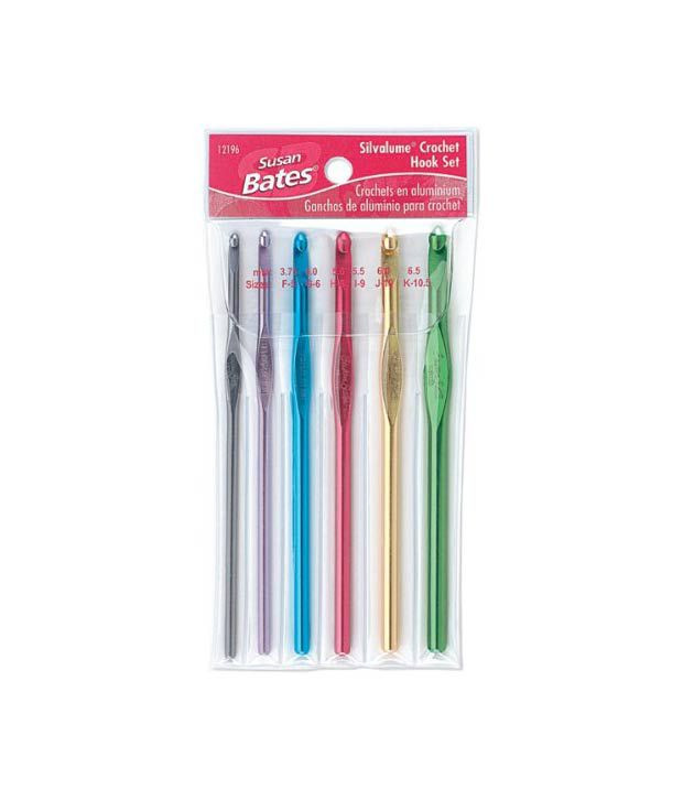 F Crochet Hook Awesome Susan Bates Silvalume Crochet Hook Set In Pouch Sizes F G Of Attractive 45 Models F Crochet Hook