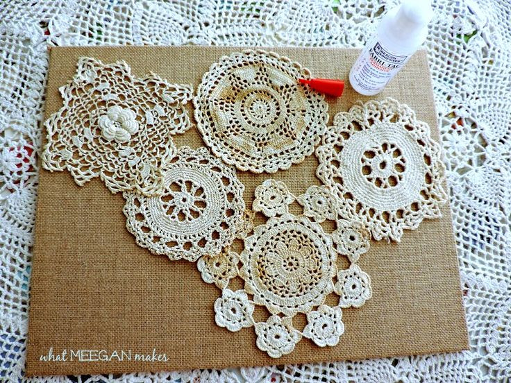 Fabric Doilies Awesome Diy Vintage Doily Art Of Attractive 41 Pics Fabric Doilies