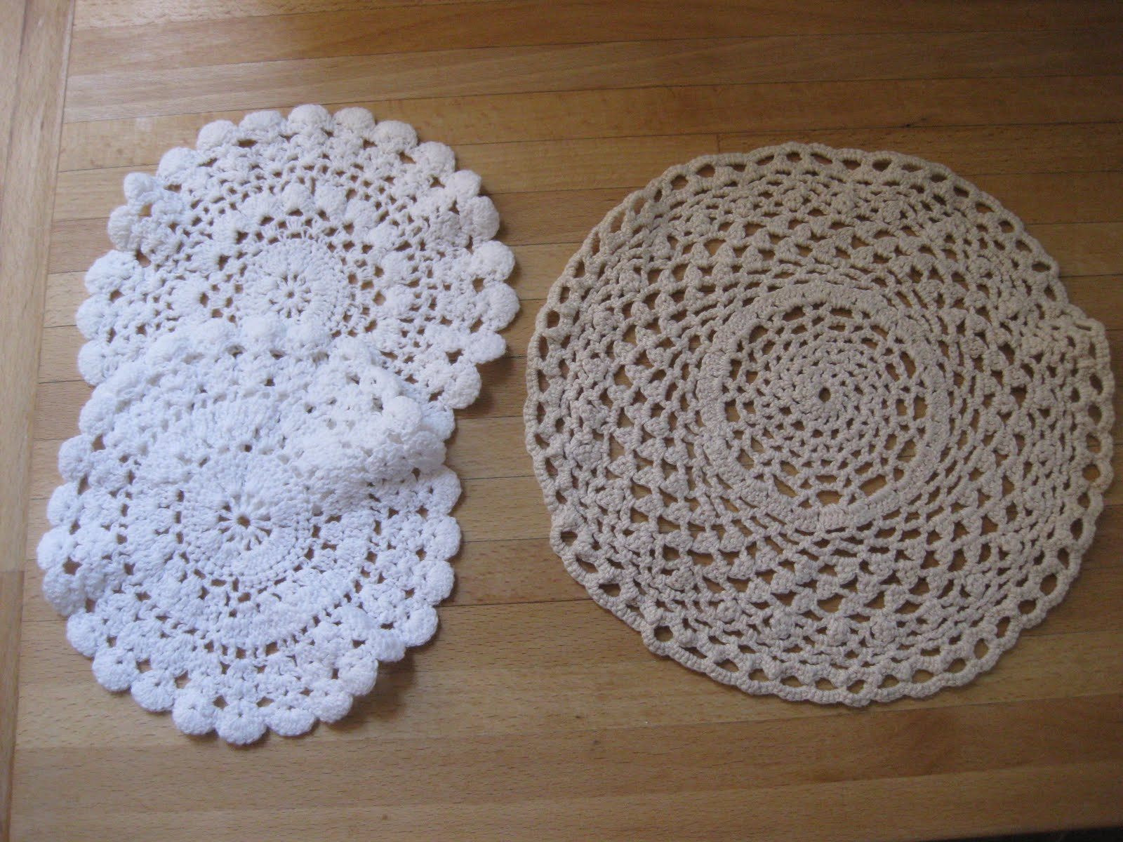 Me and my shadow Lace doilies just got cool