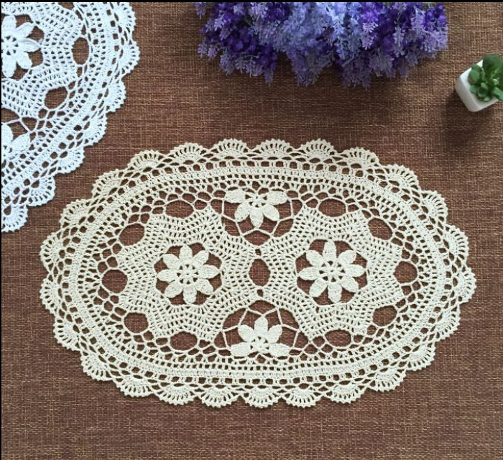 Fabric Doilies Awesome Popular Oval Crochet Doilies Buy Cheap Oval Crochet Of Attractive 41 Pics Fabric Doilies
