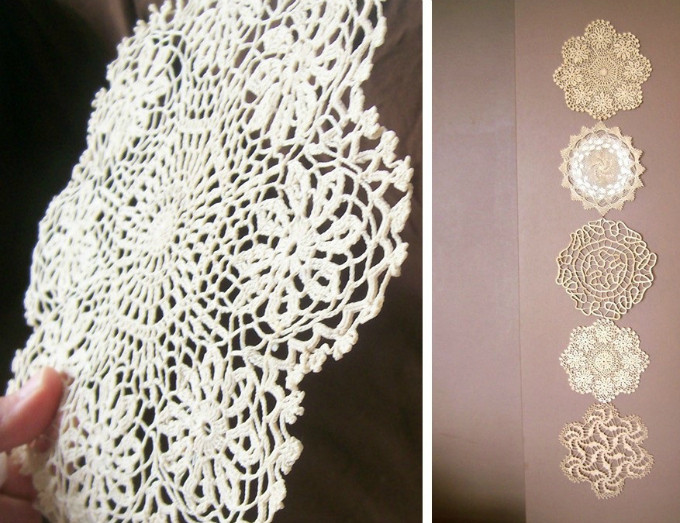 Fabric Doilies Fresh 60 Diy Fabric & Paper Doily Crafts Of Attractive 41 Pics Fabric Doilies
