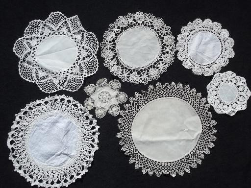 Fabric Doilies Fresh 80 Vintage Doilies Cotton Fabric Doily Table Mats W Of Attractive 41 Pics Fabric Doilies