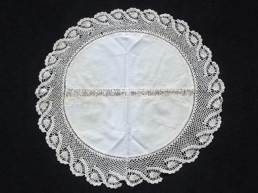 Fabric Doilies Inspirational 80 Vintage Doilies Cotton Fabric Doily Table Mats W Of Attractive 41 Pics Fabric Doilies
