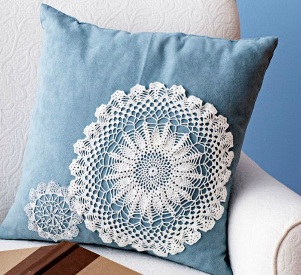Fabric Doilies Unique 25 Beautiful Diy Fabric and Paper Doily Crafts 2017 Of Attractive 41 Pics Fabric Doilies