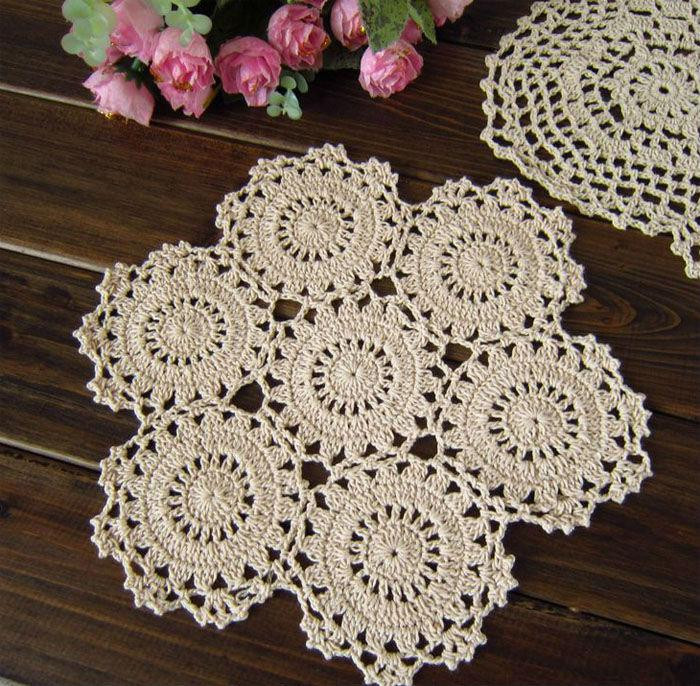 Fabric Doilies Unique Best Lace Cotton Fabric Ecru Table Mat Flower Design Of Attractive 41 Pics Fabric Doilies