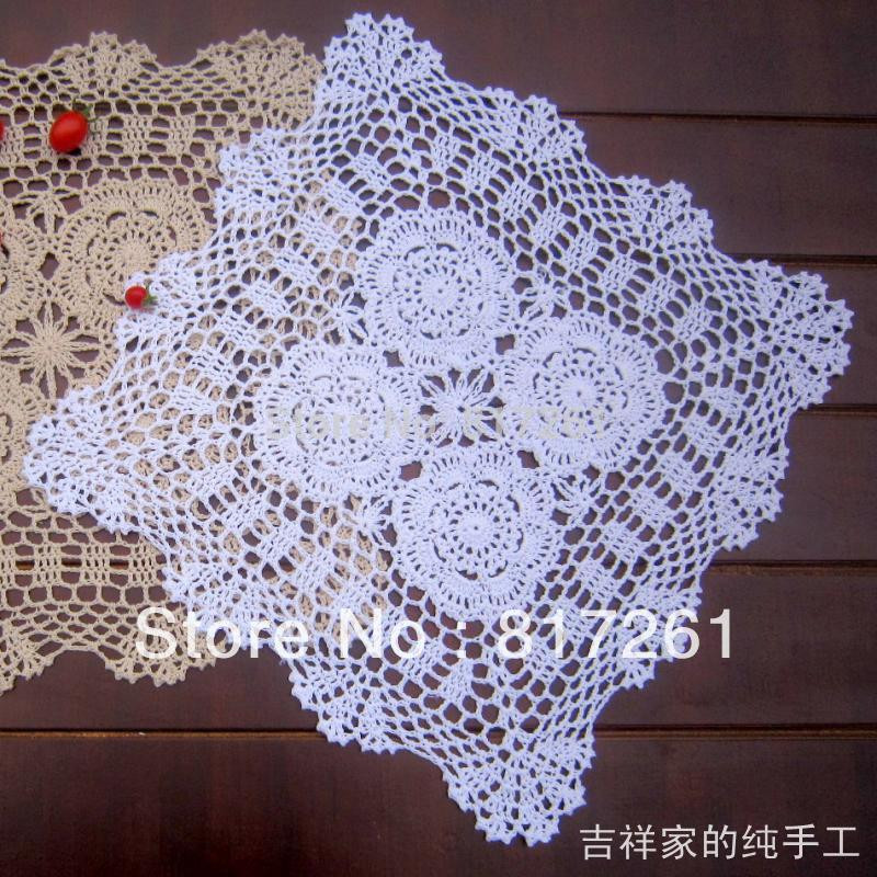 Fabric Doilies Unique Free Shipping Traditional 40x40cm 2 Colors Crochet Hook Of Attractive 41 Pics Fabric Doilies