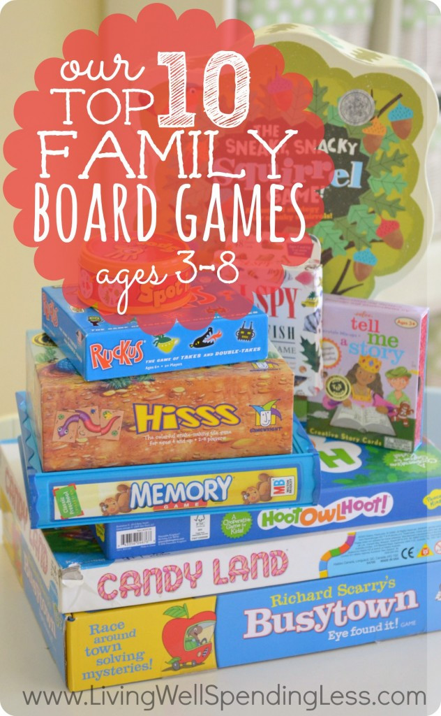 Family Board Games Best Of Our top 10 Family Board Games Ages 3 8 Living Well Of Great 44 Ideas Family Board Games
