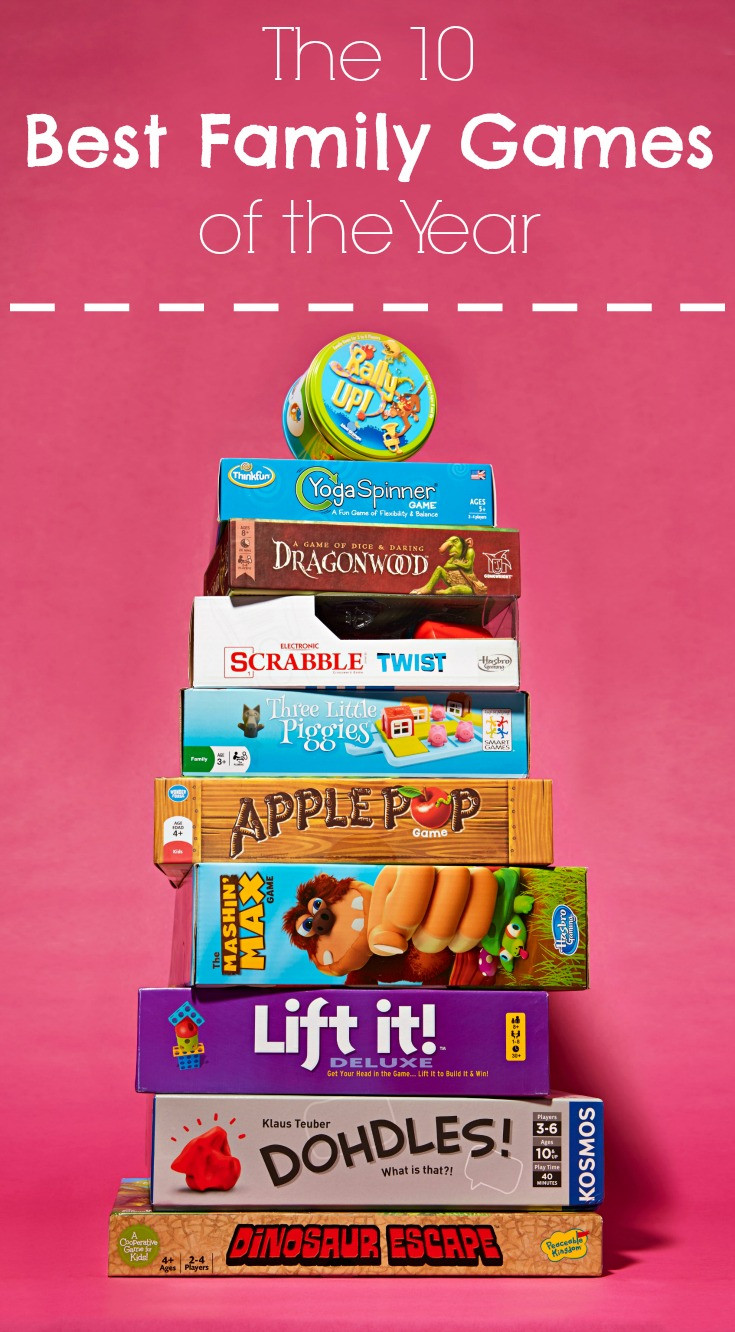 10 of the Year s Best Family Games for Family Game Night