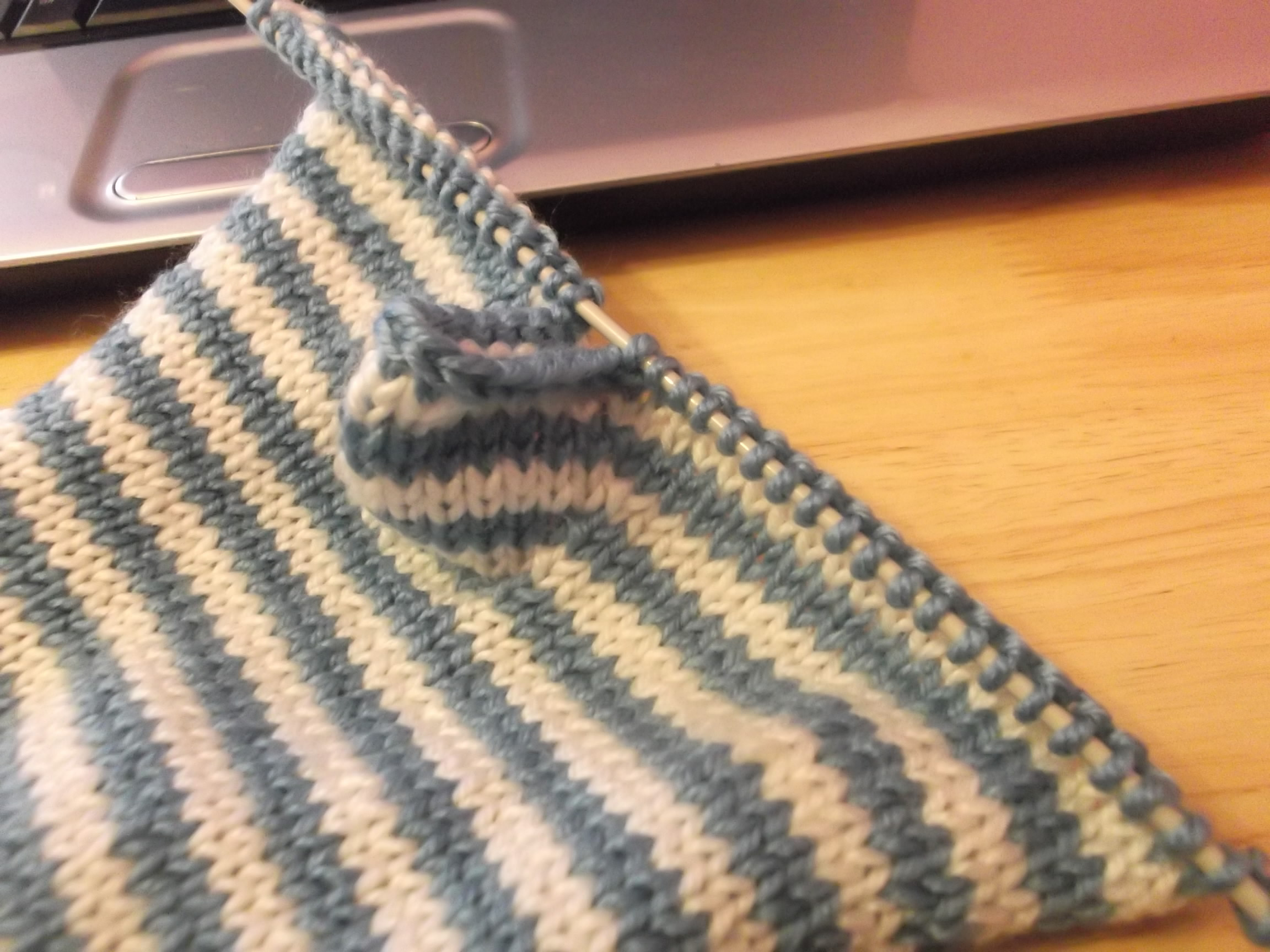 Fingerless Gloves Stashbusting project Mortgage Free