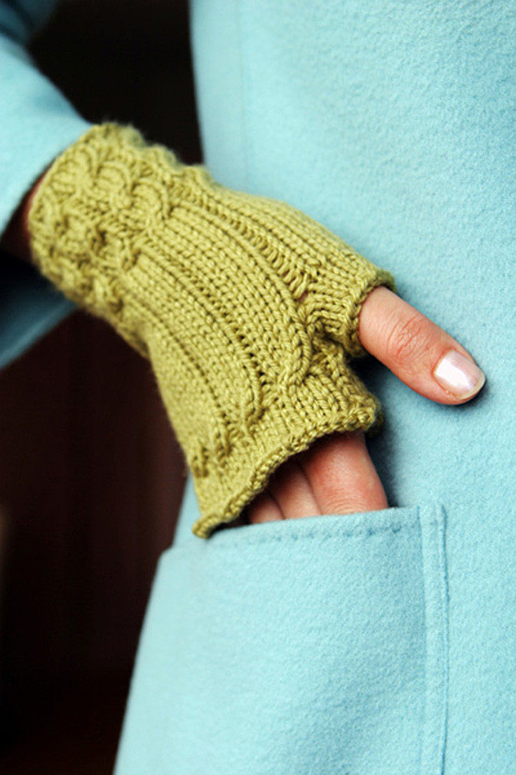 Top 10 Free Patterns for Knitting Fingerless Mittens Top