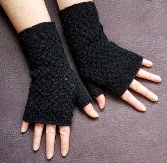 Fingerless Mittens Pattern Awesome Black Lace Fingerless Gloves Knitting Pattern Of Adorable 49 Models Fingerless Mittens Pattern