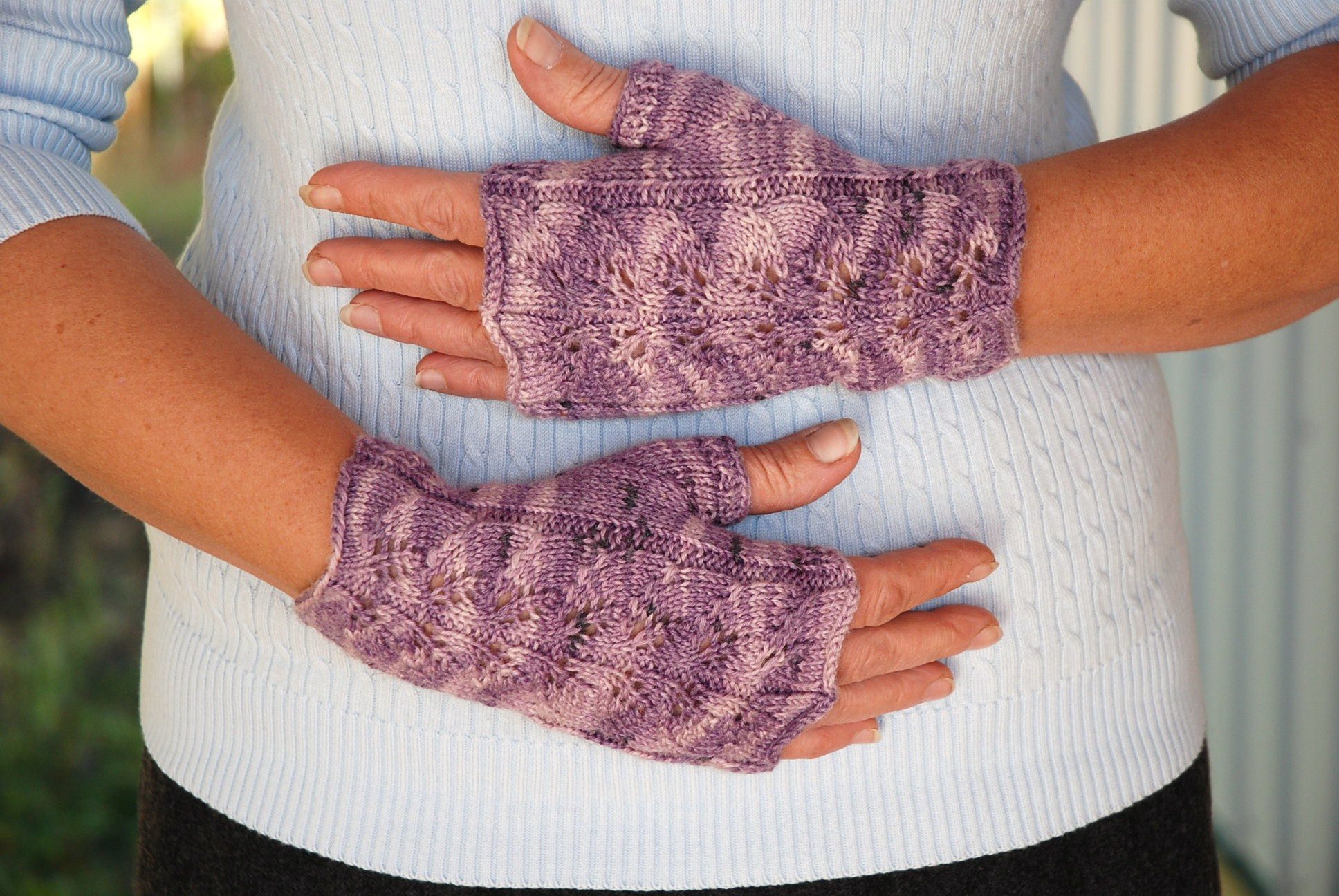 Fingerless Mittens Pattern Awesome Knitting Patterns Galore Twin Leaf Fingerless Gloves Of Adorable 49 Models Fingerless Mittens Pattern