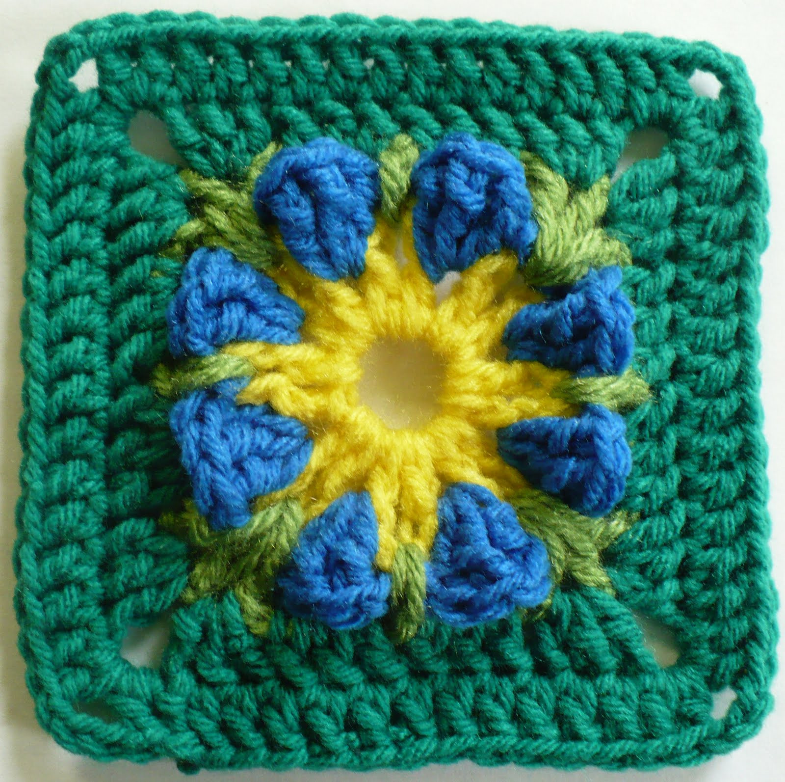 Flower Granny Square Awesome the Friendship Afghan Project Pattern Of the Day Of Wonderful 45 Pictures Flower Granny Square