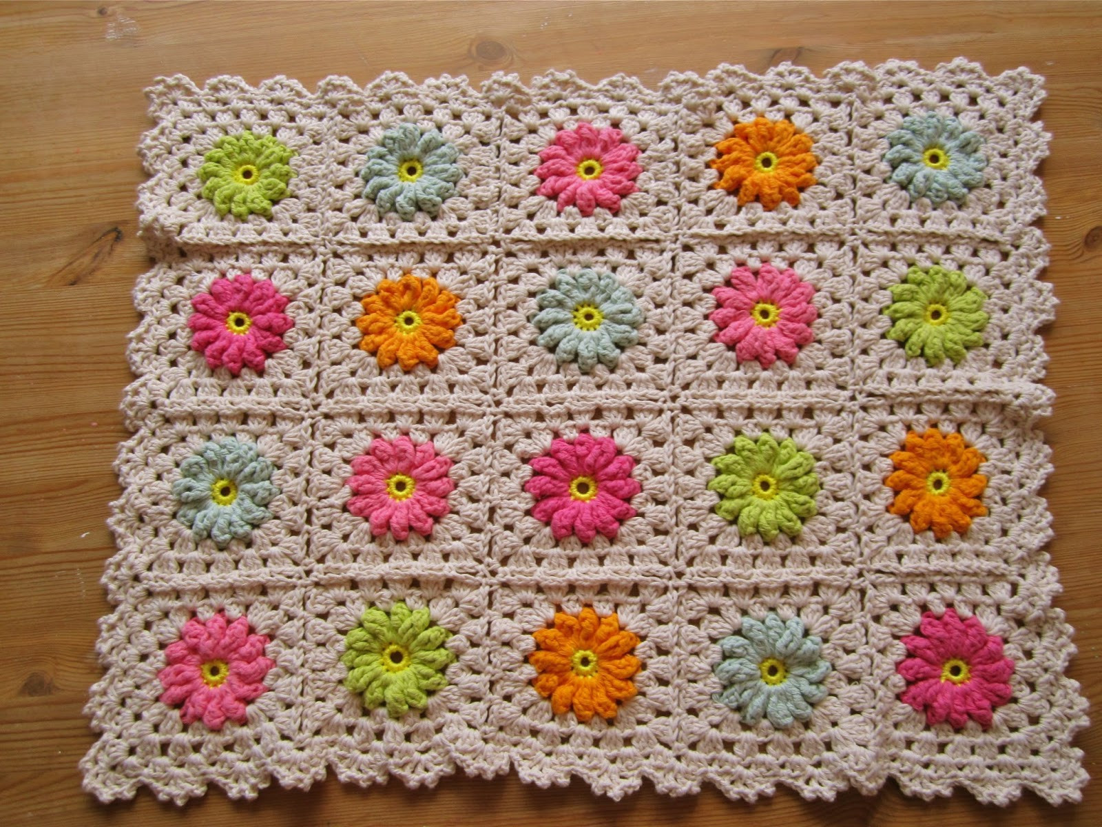 Flower Granny Square Elegant Color N Cream Crochet and Dream Flower Square Tutorial Iii Of Wonderful 45 Pictures Flower Granny Square