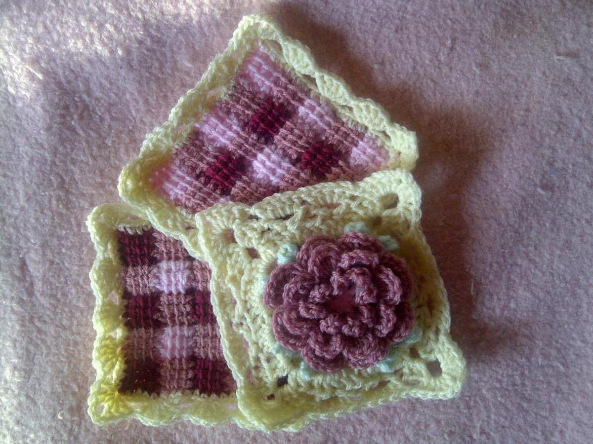 10 Flower Granny Square Crochet Patterns to Stitch