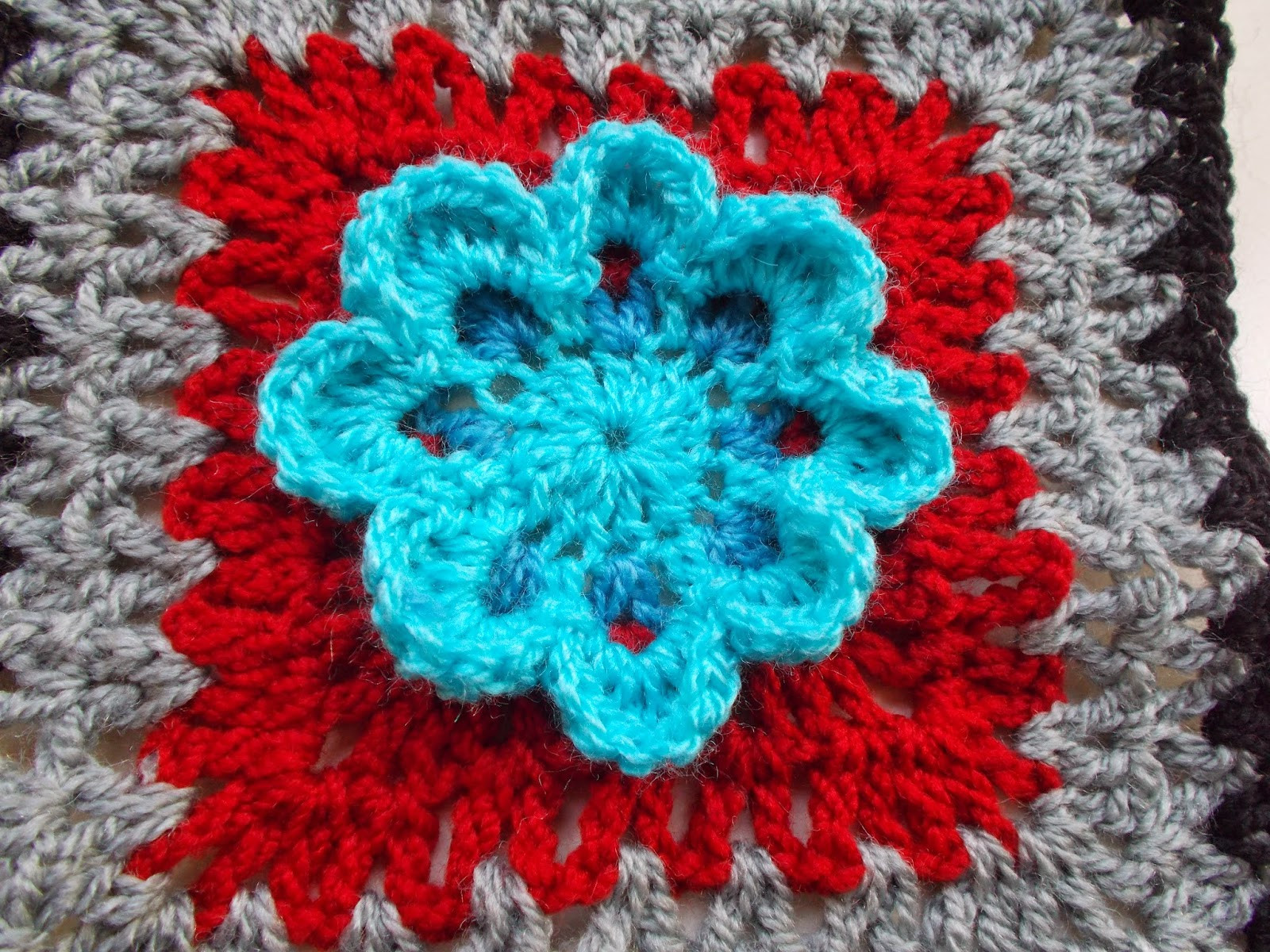 Flower Granny Square Inspirational Sweet Nothings Crochet 21 Flower Granny Squares Of Wonderful 45 Pictures Flower Granny Square
