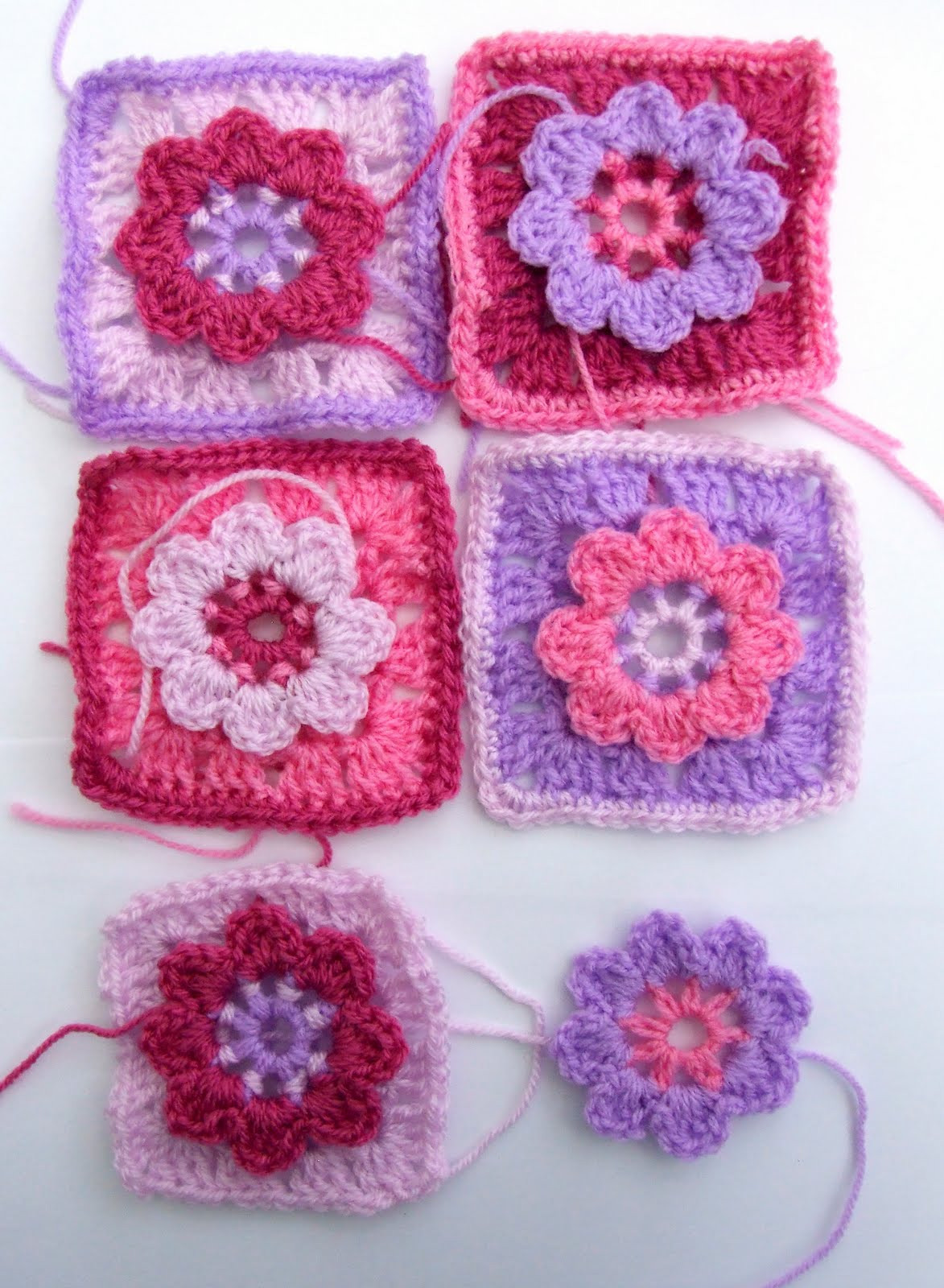 Flower Granny Square Lovely Pink Pink Pink Woolnhook by Leonie Morgan Of Wonderful 45 Pictures Flower Granny Square