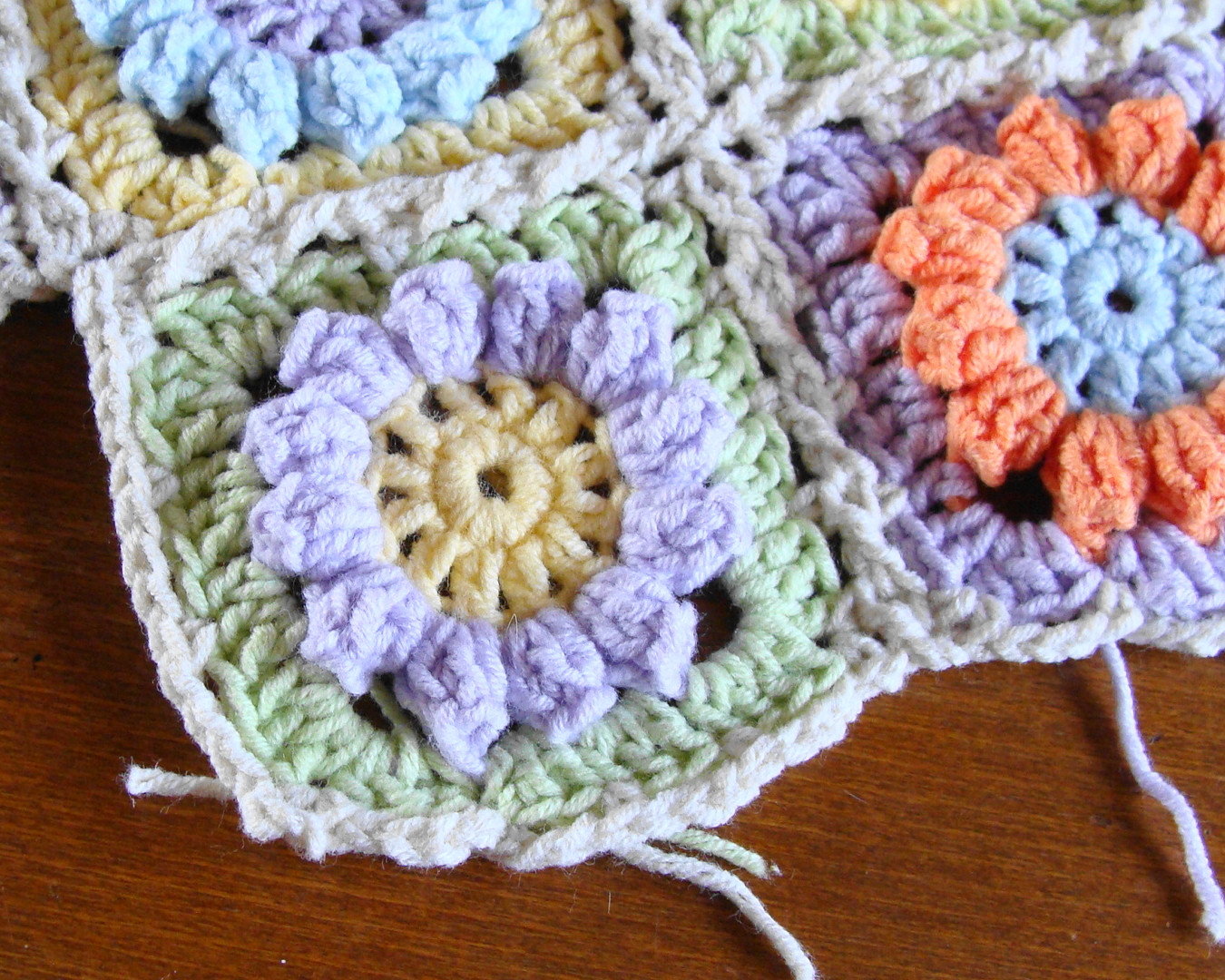 Flower Granny Square Unique Knitting Meeting Granny Flower Square Free Pattern Of Wonderful 45 Pictures Flower Granny Square