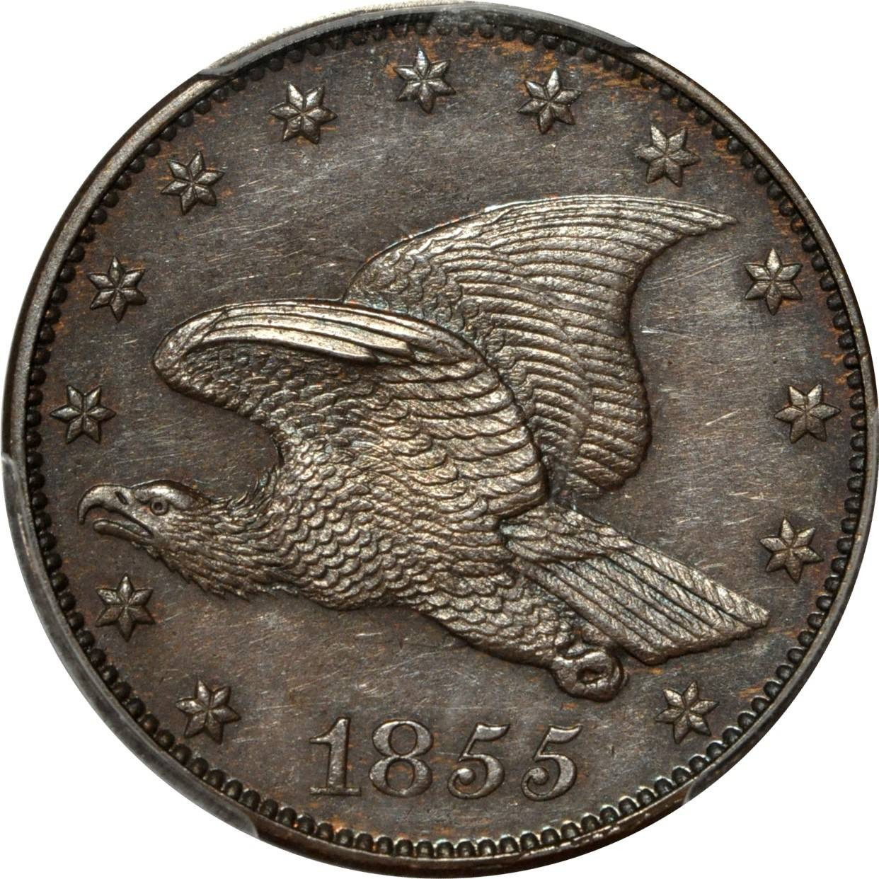 Flying Eagle Cent Lovely 1855 1c Flying Eagle Cent J 168 Snow Pt1a Pcgs Of Gorgeous 43 Images Flying Eagle Cent