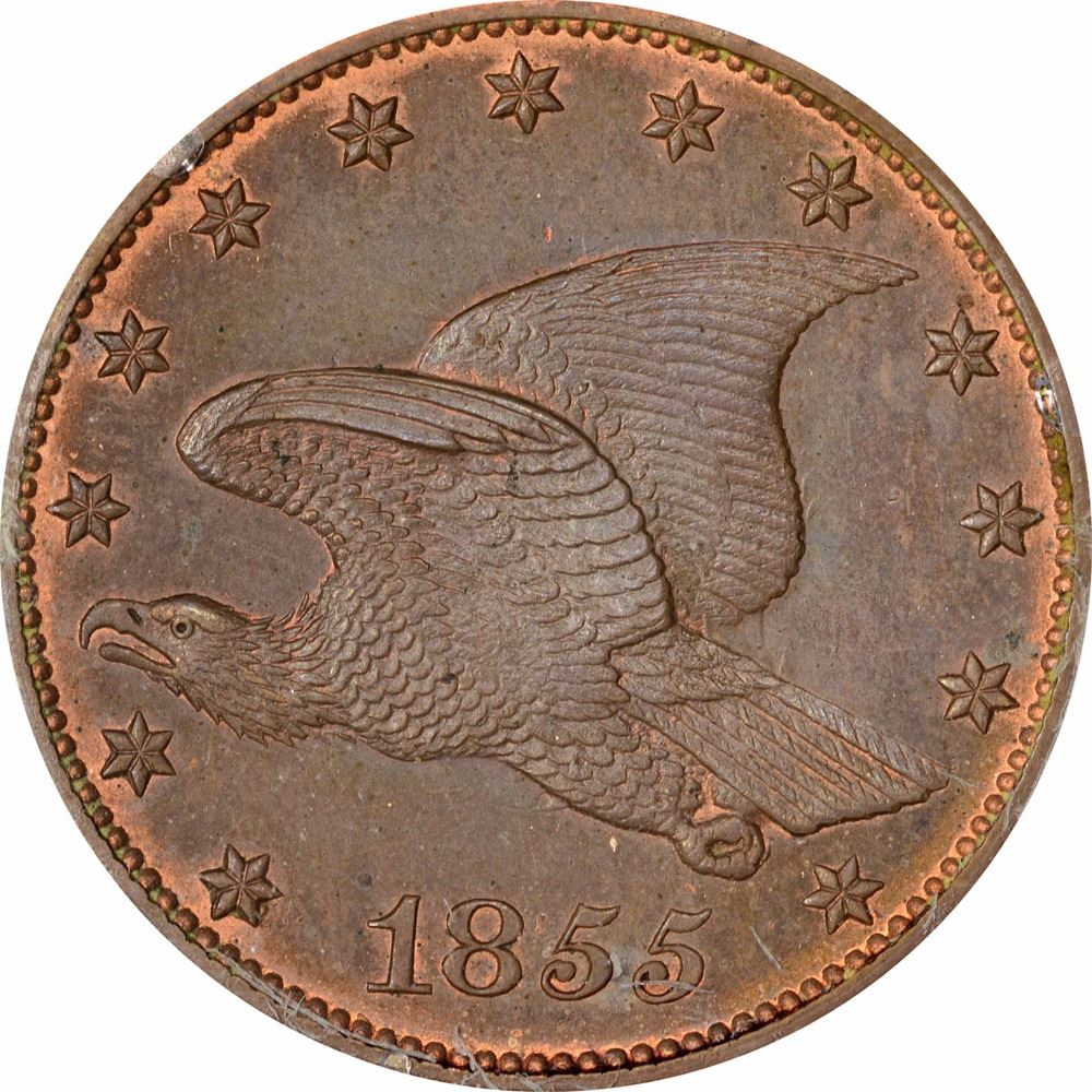 Flying Eagle Cent New 1855 Flying Eagle Cent J 168 P 193 S Pt1a R 4 Of Gorgeous 43 Images Flying Eagle Cent