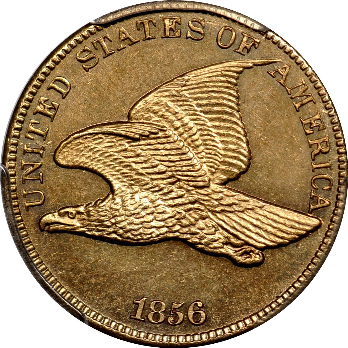 Flying Eagle Cent New 1856 1c Flying Eagle Cent Pcgs Ms64 Photo Seal Of Gorgeous 43 Images Flying Eagle Cent