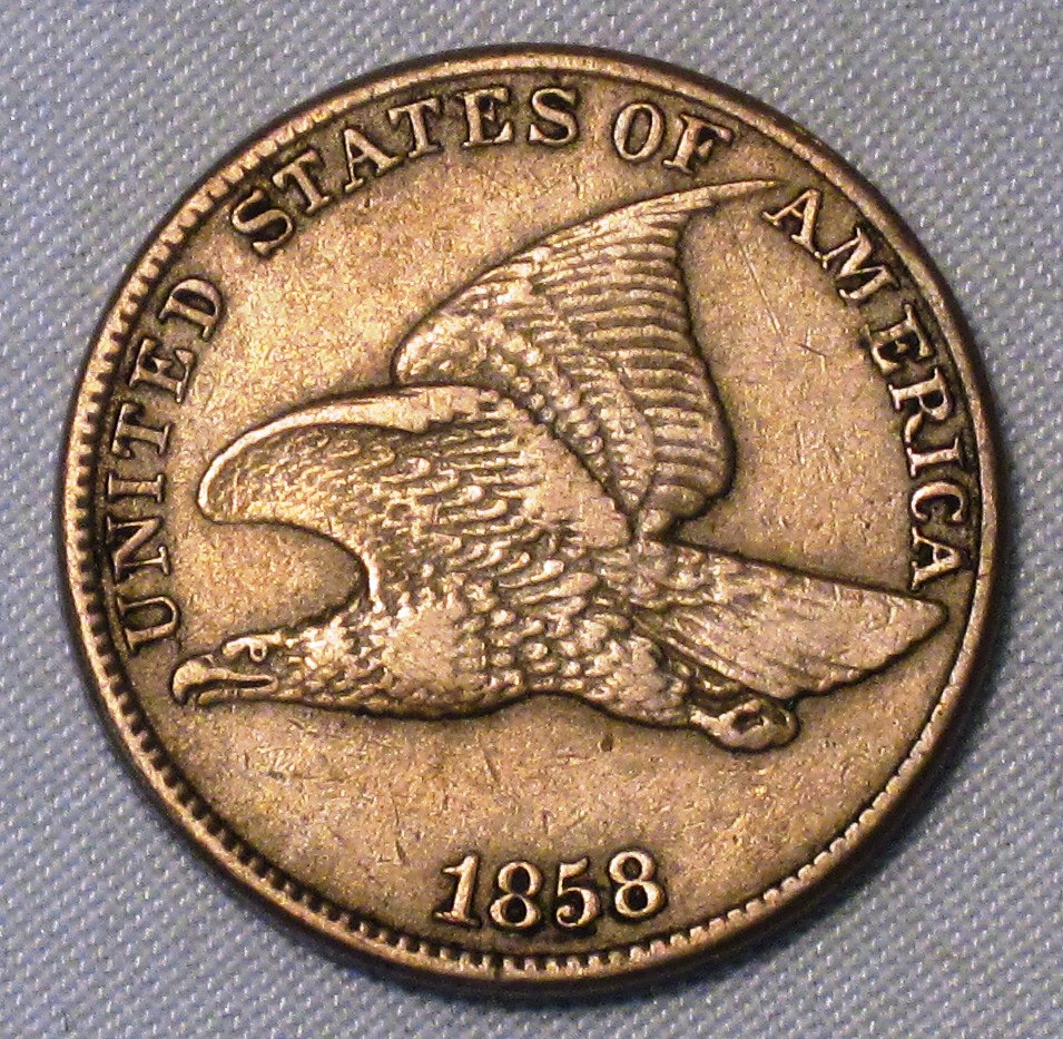 Flying Eagle Cent Unique Flying Eagle Cent 1858 Very Fine Lg Ltr Dbl Die Obv Coin Of Gorgeous 43 Images Flying Eagle Cent