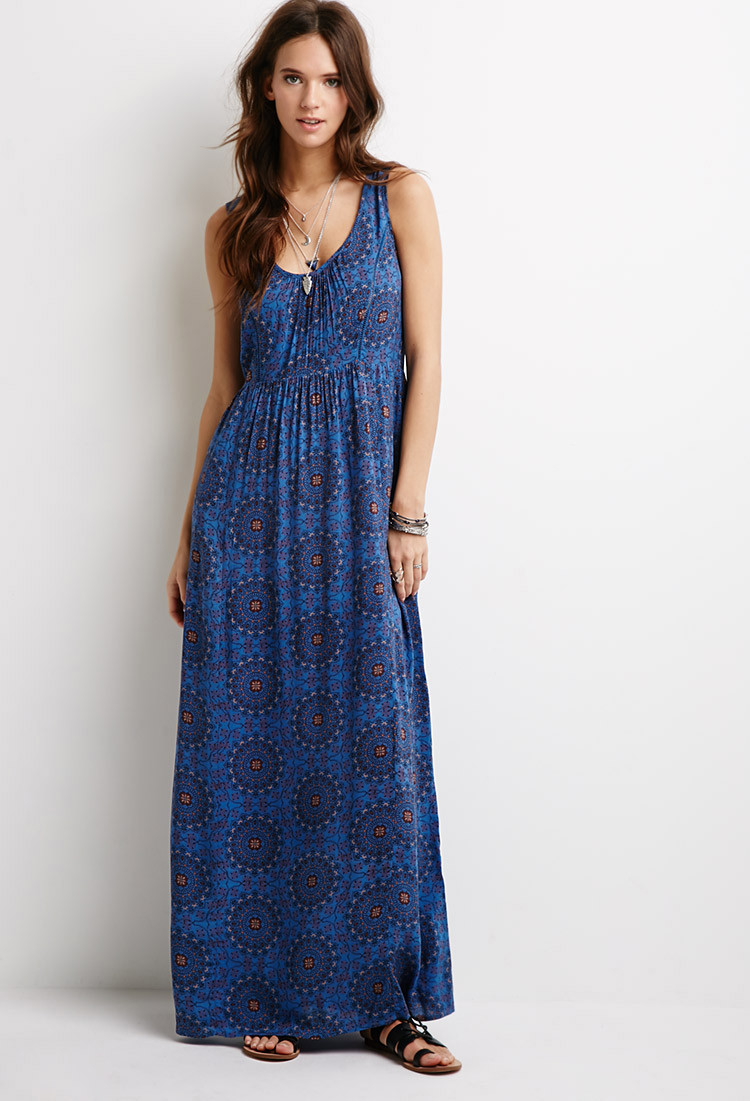 Forever 21 Crochet Dress New forever 21 Crocheted Mandala Print Dress In Blue Of Brilliant 40 Models forever 21 Crochet Dress