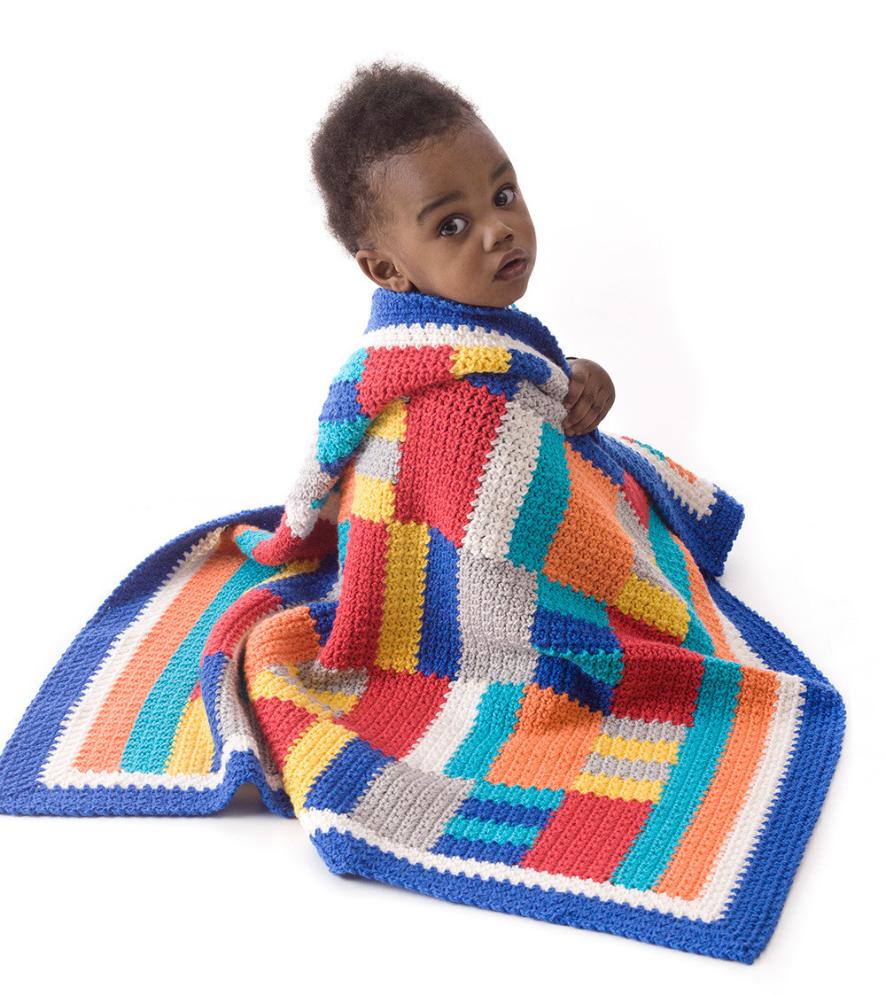 Free Baby Afghan Patterns Lovely Modern Patchwork Crochet Throw Of Attractive 40 Ideas Free Baby Afghan Patterns