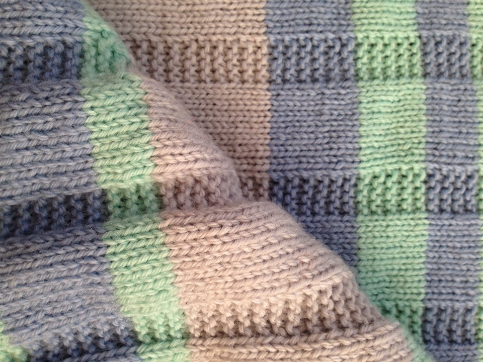 Free Baby Blanket Knitting Patterns Lovely Simple Striped Baby Blanket — Free Pattern Of Delightful 45 Photos Free Baby Blanket Knitting Patterns