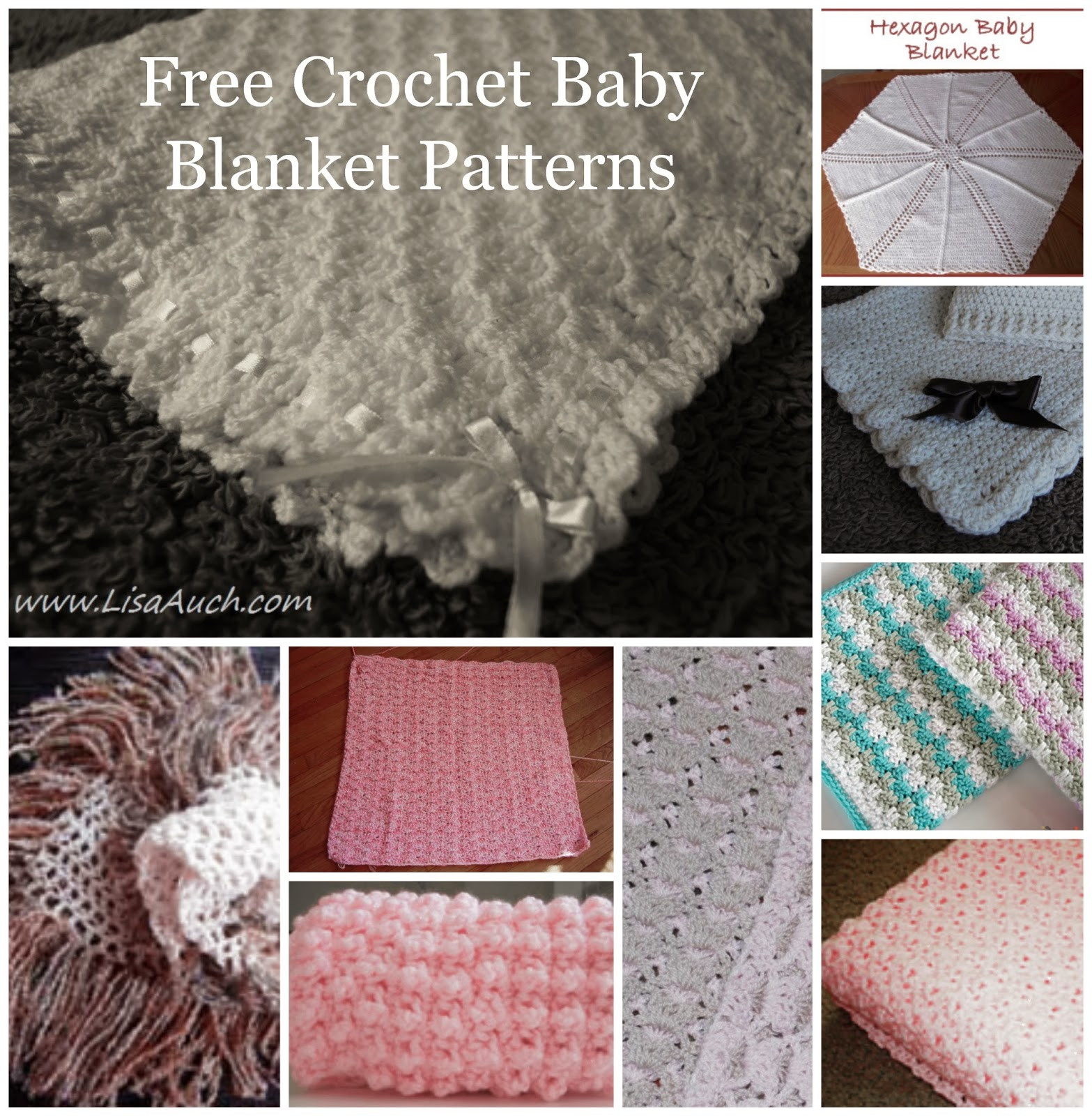 Free Baby Blanket Patterns Luxury Free Crochet Patterns and Designs by Lisaauch 15 Free Of Amazing 49 Images Free Baby Blanket Patterns