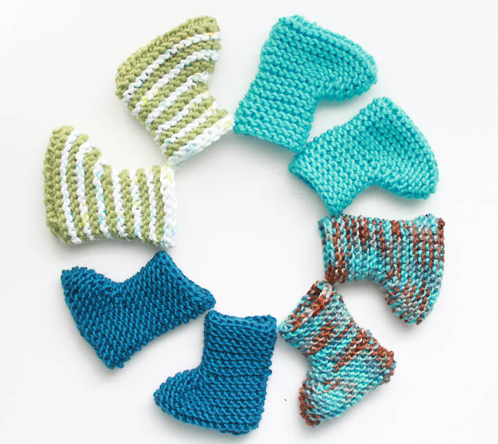 Free Baby Bootie Patterns Lovely Easy Newborn Baby Booties [knitting Pattern] Gina Michele Of Top 50 Ideas Free Baby Bootie Patterns